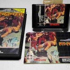 Videojuegos y Consolas: PIT - FIGHTER ( SEGA MEGA DRIVE - PAL- EURO). Lote 121557559