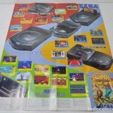 Videojuegos y Consolas: POSTER ETERNAL CHAMPIONS - SEGA MEGA DRIVE. Lote 122732375