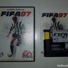 Videojuegos y Consolas: JUEGO SEGA MEGADRIVE- FIFA 97 PAL ESPAÑA COMPLETO. Lote 123032003