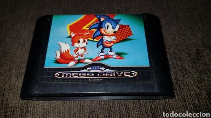 JUEGO CARTUCHO MEGA DRIVE SONIC THE HEDGEHOG 2 SEGA MEGADRIVE (Juguetes - Videojuegos y Consolas - Sega - MegaDrive)