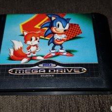 Videojuegos y Consolas: JUEGO CARTUCHO MEGA DRIVE SONIC THE HEDGEHOG 2 SEGA MEGADRIVE. Lote 123080574