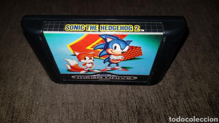Videojuegos y Consolas: JUEGO CARTUCHO MEGA DRIVE SONIC THE HEDGEHOG 2 SEGA MEGADRIVE - Foto 2 - 123080574