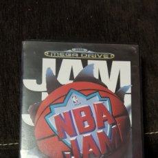 Videojuegos y Consolas: JUEGO NBA JAM SEGA MEGADRIVE EN CAJA E INSTRUCCIONES MEGA DRIVE. Lote 123084680