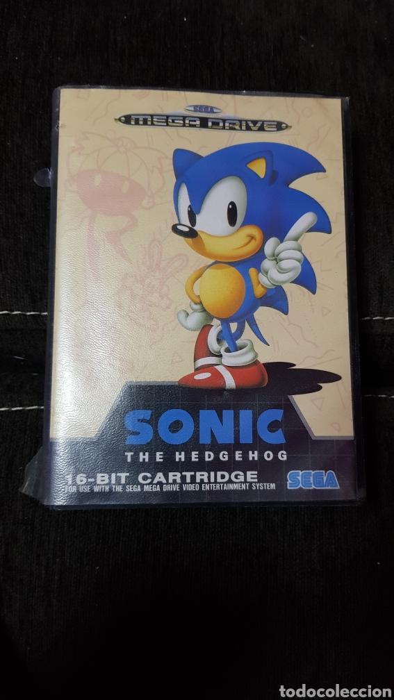 MEGA DRIVE JUEGO SONIC THE HEDGEHOG SEGA MEGADRIVE EN CAJA ORIGINAL (Juguetes - Videojuegos y Consolas - Sega - MegaDrive)