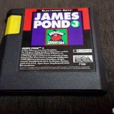 Videojuegos y Consolas: JUEGO MEGA DRIVE JAMES POND 3 OPERATION STARFISH PARA SEGA MEGADRIVE. Lote 123085154