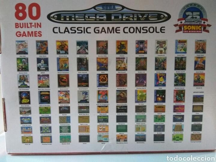 Consola Sega Mega Drive Wireless 25 Aniversario Comprar