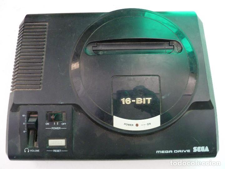 Videojuegos y Consolas: CONSOLA SEGA MEGADRIVE - Foto 5 - 124809355