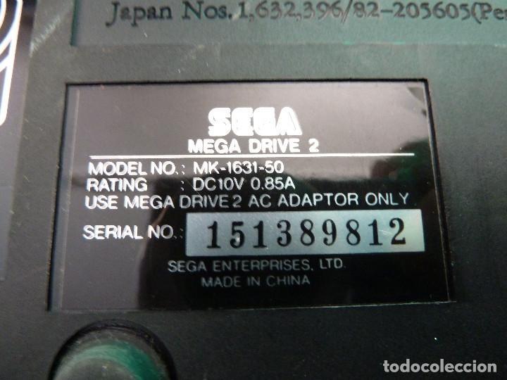 Videojuegos y Consolas: CONSOLA SEGA MEGADRIVE II - 2 - Foto 7 - 124814119