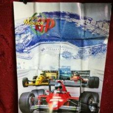 Videojuegos y Consolas: CATALOGO POSTER SUPER MONACO GP SEGA MEGA DRIVE . Lote 125328387