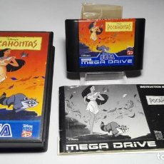 Videojuegos y Consolas: POCAHONTAS ( SEGA MEGA DRIVE - PAL- EURO) J19. Lote 125993235