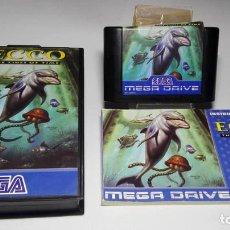 Videojuegos y Consolas: ECCO - THE TIDES OF TIME ( SEGA MEGA DRIVE - PAL- EURO) J19JC. Lote 125993331
