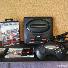 Videojuegos y Consolas: CONSOLA MEGA DRIVE 2 COMPLETA . Lote 126039195
