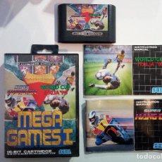 Video Games and Consoles - MEGA GAMES 1 - SEGA MEGADRIVE / MEGA DRIVE / GENESIS - PAL EUR - FALTA MANUAL COLUMNS - 126729959