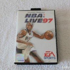 Video Games and Consoles - JUEGO SEGA MEGADRIVE MEGA DRIVE: NBA LIVE 97 --- COMPLETO. - 127524527