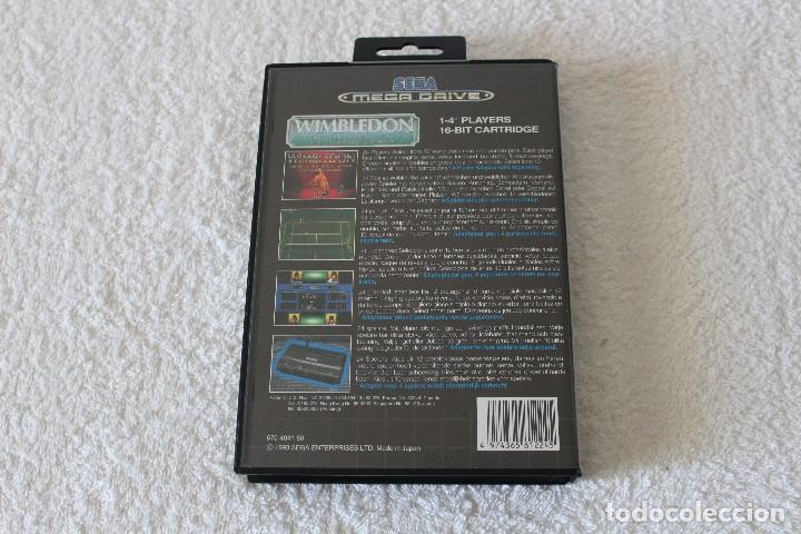 Videojuegos y Consolas: JUEGO SEGA MEGADRIVE MEGA DRIVE: WIMBLEDON --- COMPLETO. - Foto 3 - 127524671