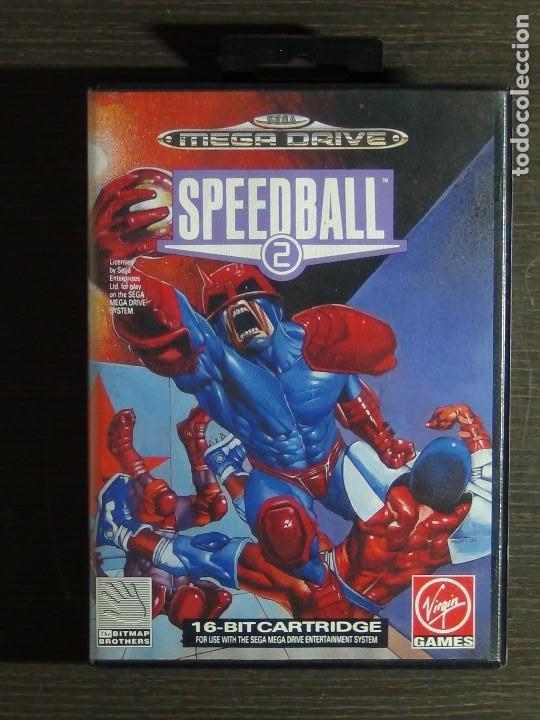 JUEGO SPEEDBALL 2 DE THE BITMAP BROTHERS PARA LA SEGA MEGA DRIVE COMPLETO (Juguetes - Videojuegos y Consolas - Sega - MegaDrive)