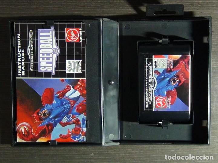Videojuegos y Consolas: JUEGO SPEEDBALL 2 DE THE BITMAP BROTHERS PARA LA SEGA MEGA DRIVE COMPLETO - Foto 6 - 127624059