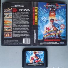 Videojuegos y Consolas: JUEGO SEGA MEGA DRIVE STREET FIGHTER II CHAMPION EDITION INCLUYE CAJA BOXED PAL R7773. Lote 128256887
