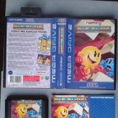 Videojuegos y Consolas: JUEGO SEGA MEGA DRIVE PAC PANIC COMPLETO CON CAJA Y MANUAL BOXED CIB PAL R7774. Lote 128256927
