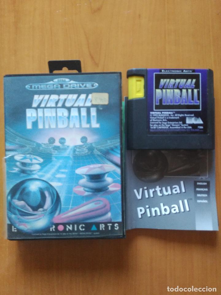 JUEGO VIRTUAL PINBALL (Juguetes - Videojuegos y Consolas - Sega - MegaDrive)