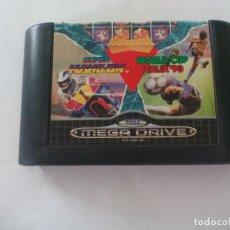 Videojuegos y Consolas: MEGA GAMES I COLUMNS SUPER HANG-ON - WORLD CUP ITALIA' 90. JUEGO PARA LA CONSOLA SEGA MEGA DRIVE. . Lote 130097703