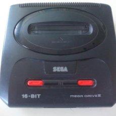 Videojuegos y Consolas: CONSOLA SEGA MEGA DRIVE II. 16 BIT. FUNCIONANDO. . Lote 130349102