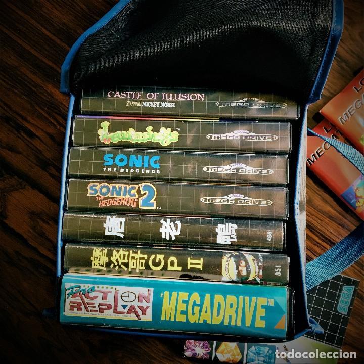 Videojuegos y Consolas: Consola SEGA MegaDrive impecable con extras - Foto 5 - 130585410