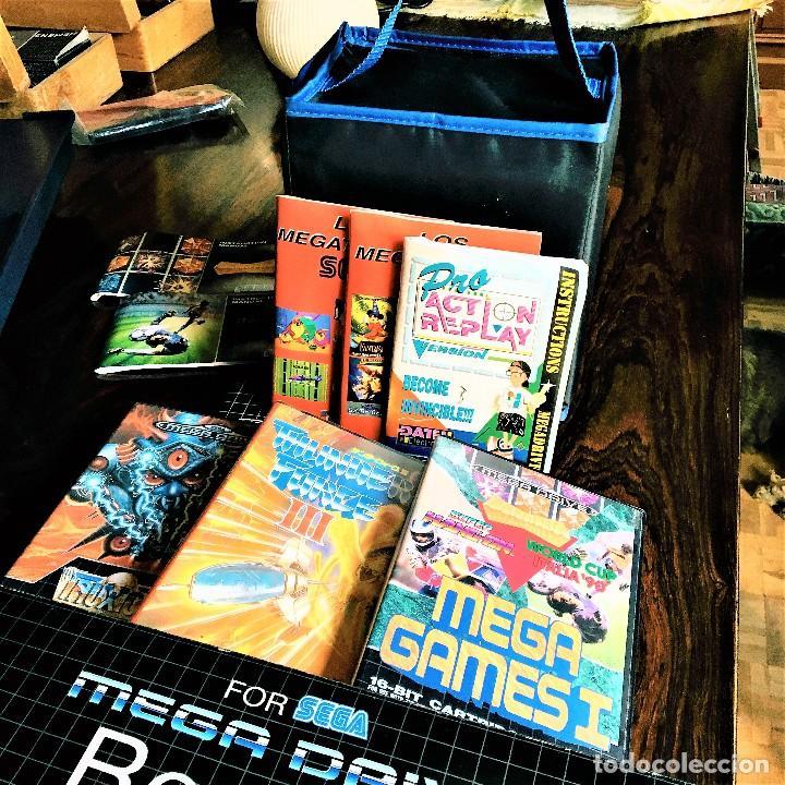 CONSOLA SEGA MEGADRIVE IMPECABLE CON EXTRAS (Juguetes - Videojuegos y Consolas - Sega - MegaDrive)