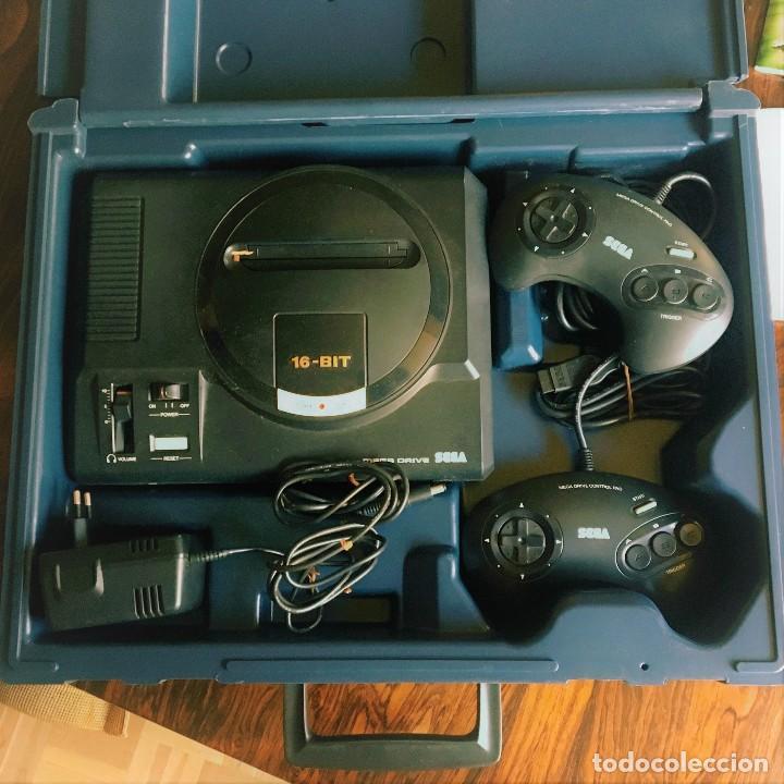 Videojuegos y Consolas: Consola SEGA MegaDrive impecable con extras - Foto 2 - 130585410