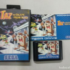 Videojuegos y Consolas: TAZ IN ESCAPE FROM MARS - MEGADRIVE MEGA DRIVE SEGA PAL. Lote 131050284