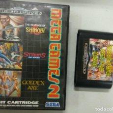 Videojuegos y Consolas: MEGA GAMES MEGAGAMES 2 SHINOBI STREETS RAGE - MEGADRIVE MEGA DRIVE SEGA PAL. Lote 131050424