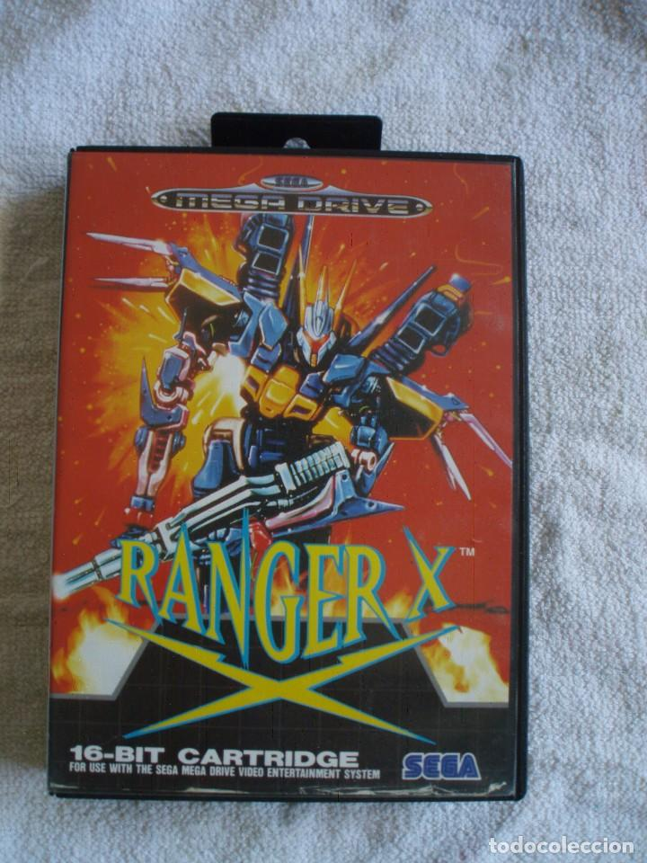ranger x sega megadrive md smd sega mega drive sold at auction 131438210 todocoleccion