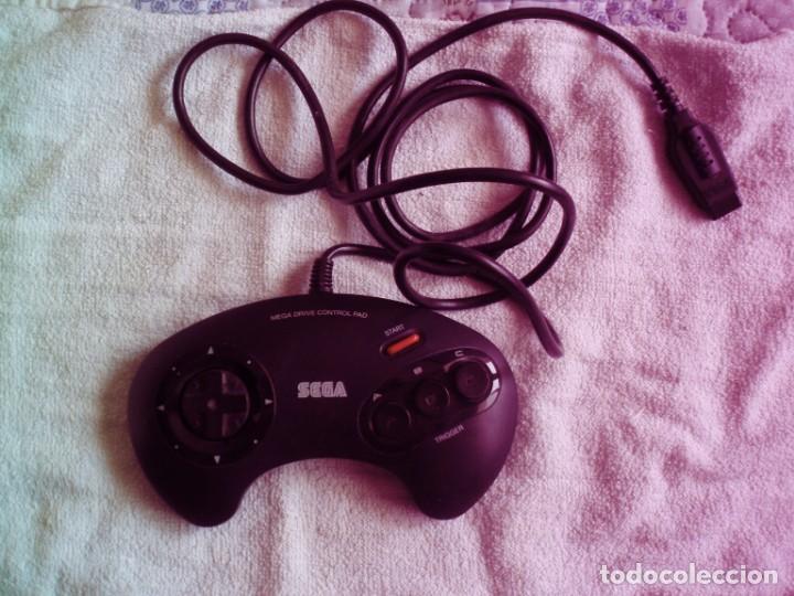 PAD JOYPAD VIDEO CONSOLA SEGA MEGA DRIVE MEGADRIVE GENESIS (Juguetes - Videojuegos y Consolas - Sega - MegaDrive)