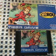 Videojuegos y Consolas: SPIROU SEGA MEGA DRIVE MEGADRIVE MD SMD KREATEN. Lote 131949834