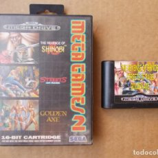 Videojuegos y Consolas: JUEGO MEGA GAMES 2 PARA SEGA MEGADRIVE MEGA DRIVE. Lote 138091665