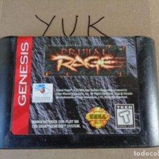 Videojuegos y Consolas: PRIMAL RAGE MEGA DRIVE SEGA -- SOLO CARTUCHO. Lote 132943490