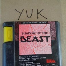 Videojuegos y Consolas: SHADOW OF THE BEAST. ELECTRONIC ARTS. JUEGO PARA LA CONSOLA SEGA MEGA DRIVE - MEGADRIVE. Lote 132944990