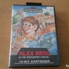 Videojuegos y Consolas: ALEX KIDD IN ENCHANTED CASTLE SEGA MEGADRIVE GENESIS COMPLETO. Lote 133238334