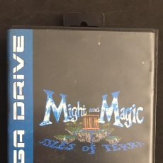 Videojogos e Consolas: JUEGO PARA LA CONSOLA SEGA MEGA DRIVE MEGADRIVE MIGHT AND MAGIC III ISLES OF TERRA. Lote 133448722