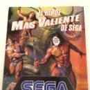 Videojuegos y Consolas: FOLLETO SEGA PRIMER COLECCIONABLE ESPECIAL SUPER HEROES. Lote 133489983