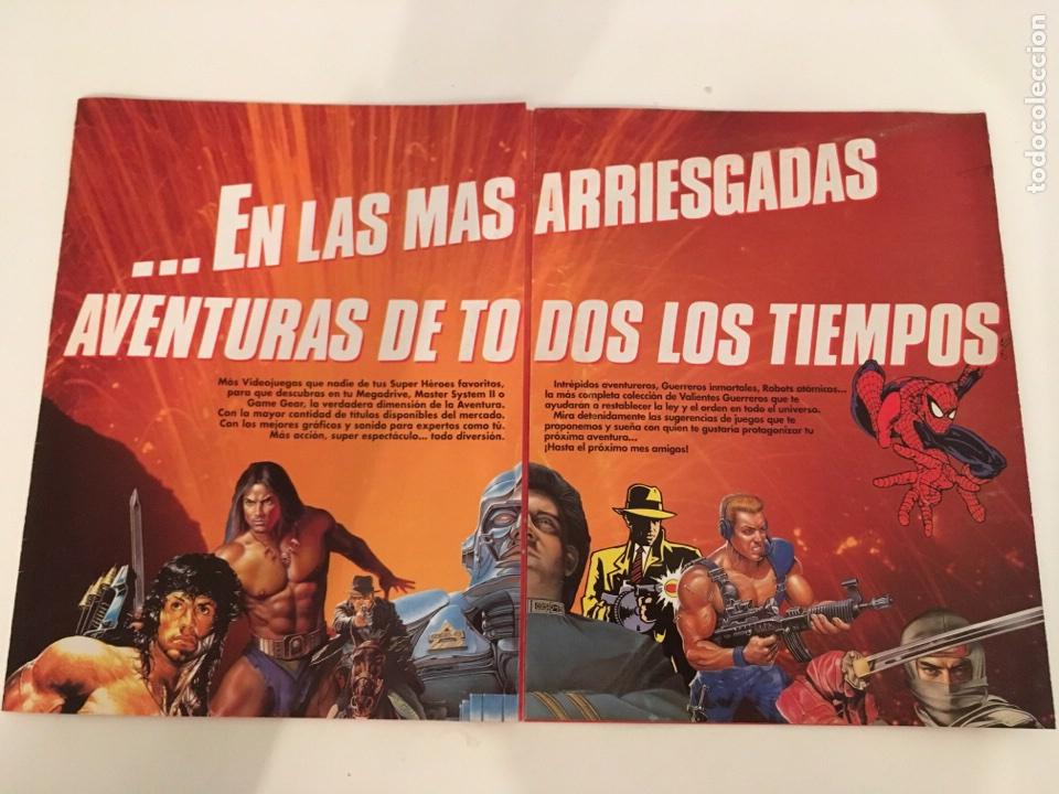 Videojuegos y Consolas: Folleto Sega Primer coleccionable especial super heroes - Foto 2 - 133489983