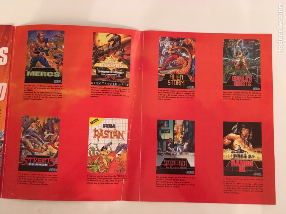 Videojuegos y Consolas: Folleto Sega Primer coleccionable especial super heroes - Foto 3 - 133489983