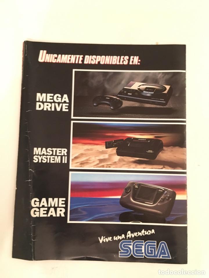 Videojuegos y Consolas: Folleto Sega Primer coleccionable especial super heroes - Foto 4 - 133489983
