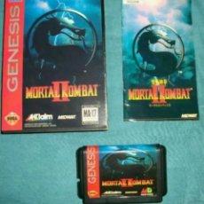 Videojuegos y Consolas: MORTAL KOMBAT II COMPLETO SEGA MEGA DRIVE MEGADRIVE GENESIS REPRO. Lote 133782023