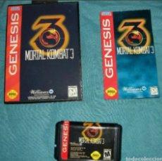 Videojuegos y Consolas: MORTAL KOMBAT 3 COMPLETO SEGA MEGA DRIVE MEGADRIVE GENESIS REPRO. Lote 133782043