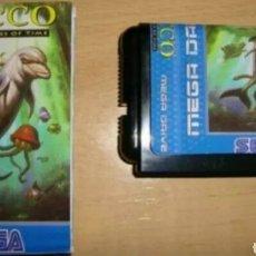 Videojuegos y Consolas: ECCO THE TIDES OF TIME SEGA MEGA DRIVE MEGADRIVE GENESIS REPRO. Lote 133782145