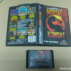Videojuegos y Consolas: MORTAL KOMBAT SEGA MEGADRIVE VERSION PAL. Lote 134010842