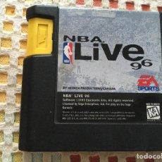 Videojuegos y Consolas: NBA LIVE 96 SOLO CARTUCHO SEGA MEGA DRIVE MEGADRIVE KREATEN MD SMD. Lote 134128530