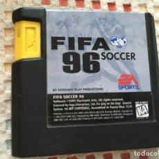 Videojuegos y Consolas: FIFA 96 SOCCER SOLO CARTUCHO SEGA MEGA DRIVE MEGADRIVE KREATEN MD SMD. Lote 134128666