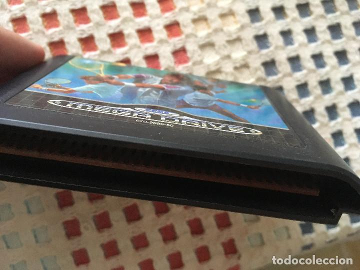 Videojuegos y Consolas: THE TENNIS TOURNAMENT GRANDSLAM GRAND SLAM SEGA MEGA DRIVE MEGADRIVE KREATEN MD SMD - Foto 3 - 134129298